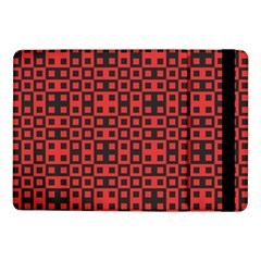 Abstract Background Red Black Samsung Galaxy Tab Pro 10 1  Flip Case