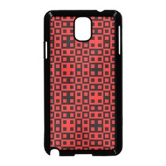 Abstract Background Red Black Samsung Galaxy Note 3 Neo Hardshell Case (black)