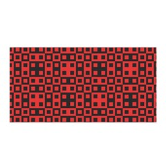 Abstract Background Red Black Satin Wrap