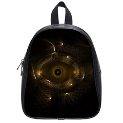 Abstract Fractal Art Artwork School Bags (small)