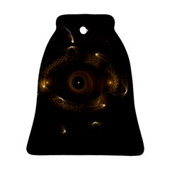 Abstract Fractal Art Artwork Bell Ornament (two Sides)