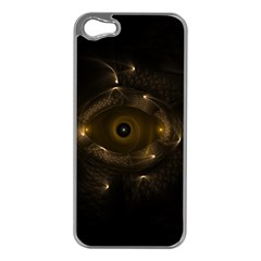 Abstract Fractal Art Artwork Apple Iphone 5 Case (silver)