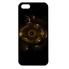 Abstract Fractal Art Artwork Apple Iphone 5 Seamless Case (black)