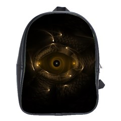 Abstract Fractal Art Artwork School Bags (xl)