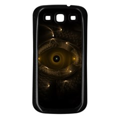 Abstract Fractal Art Artwork Samsung Galaxy S3 Back Case (black)
