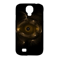 Abstract Fractal Art Artwork Samsung Galaxy S4 Classic Hardshell Case (pc+silicone)