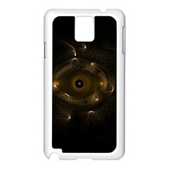Abstract Fractal Art Artwork Samsung Galaxy Note 3 N9005 Case (white)