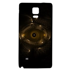 Abstract Fractal Art Artwork Galaxy Note 4 Back Case