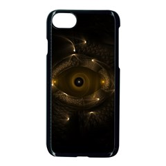 Abstract Fractal Art Artwork Apple Iphone 7 Seamless Case (black)