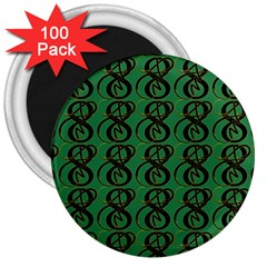 Abstract Pattern Graphic Lines 3  Magnets (100 Pack)