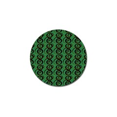 Abstract Pattern Graphic Lines Golf Ball Marker