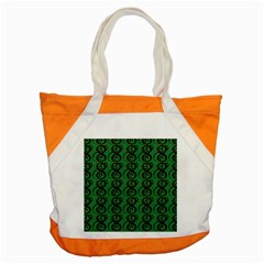 Abstract Pattern Graphic Lines Accent Tote Bag