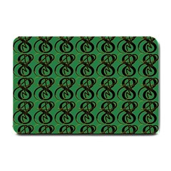 Abstract Pattern Graphic Lines Small Doormat