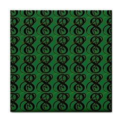 Abstract Pattern Graphic Lines Face Towel