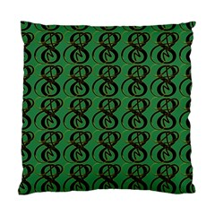 Abstract Pattern Graphic Lines Standard Cushion Case (Two Sides)