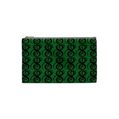 Abstract Pattern Graphic Lines Cosmetic Bag (small)