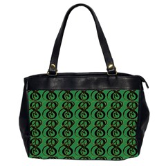 Abstract Pattern Graphic Lines Office Handbags (2 Sides)