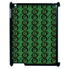Abstract Pattern Graphic Lines Apple Ipad 2 Case (black)