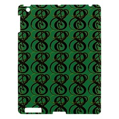 Abstract Pattern Graphic Lines Apple Ipad 3/4 Hardshell Case