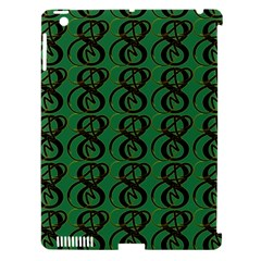 Abstract Pattern Graphic Lines Apple Ipad 3/4 Hardshell Case (compatible With Smart Cover)