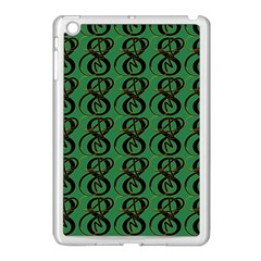 Abstract Pattern Graphic Lines Apple Ipad Mini Case (white)