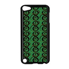 Abstract Pattern Graphic Lines Apple iPod Touch 5 Case (Black)