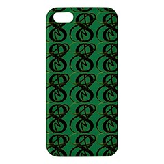 Abstract Pattern Graphic Lines Apple Iphone 5 Premium Hardshell Case