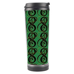 Abstract Pattern Graphic Lines Travel Tumbler
