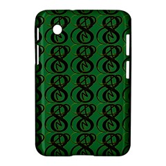 Abstract Pattern Graphic Lines Samsung Galaxy Tab 2 (7 ) P3100 Hardshell Case