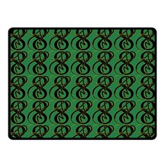 Abstract Pattern Graphic Lines Double Sided Fleece Blanket (small)