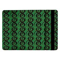 Abstract Pattern Graphic Lines Samsung Galaxy Tab Pro 12 2  Flip Case