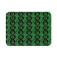 Abstract Pattern Graphic Lines Double Sided Flano Blanket (mini)