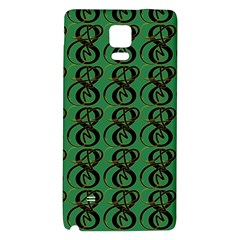 Abstract Pattern Graphic Lines Galaxy Note 4 Back Case
