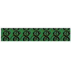 Abstract Pattern Graphic Lines Flano Scarf (large)