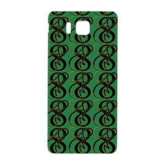 Abstract Pattern Graphic Lines Samsung Galaxy Alpha Hardshell Back Case