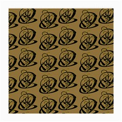 Abstract Swirl Background Wallpaper Medium Glasses Cloth (2 Side)