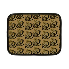 Abstract Swirl Background Wallpaper Netbook Case (small)