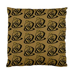 Abstract Swirl Background Wallpaper Standard Cushion Case (two Sides)