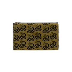 Abstract Swirl Background Wallpaper Cosmetic Bag (small)