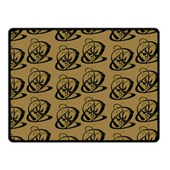 Abstract Swirl Background Wallpaper Fleece Blanket (small)