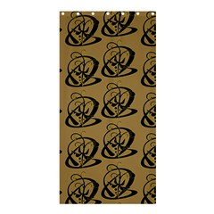 Abstract Swirl Background Wallpaper Shower Curtain 36  X 72  (stall)