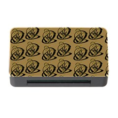 Abstract Swirl Background Wallpaper Memory Card Reader With Cf