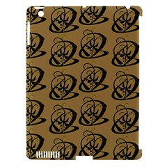Abstract Swirl Background Wallpaper Apple Ipad 3/4 Hardshell Case (compatible With Smart Cover)