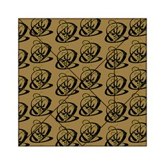 Abstract Swirl Background Wallpaper Acrylic Tangram Puzzle (6  X 6 )