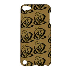 Abstract Swirl Background Wallpaper Apple Ipod Touch 5 Hardshell Case