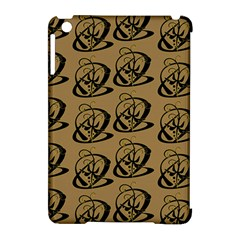 Abstract Swirl Background Wallpaper Apple Ipad Mini Hardshell Case (compatible With Smart Cover)