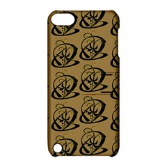 Abstract Swirl Background Wallpaper Apple Ipod Touch 5 Hardshell Case With Stand