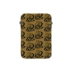 Abstract Swirl Background Wallpaper Apple Ipad Mini Protective Soft Cases