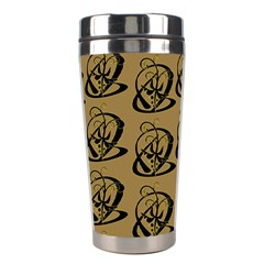Abstract Swirl Background Wallpaper Stainless Steel Travel Tumblers