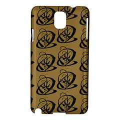 Abstract Swirl Background Wallpaper Samsung Galaxy Note 3 N9005 Hardshell Case